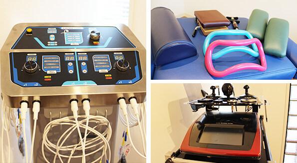 コア・カイロプラクティック錦糸町で使用する最新の医療機器の写真
